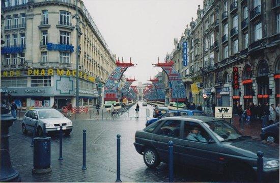 Grande place : Площадь в сторону старого вокзала