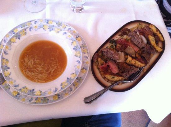 Restaurante del Hotel del Oso : Sopa y cocido lebaniego
