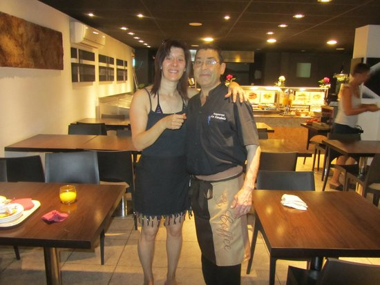 La Carabela Hotel: Nathalie et Pablo