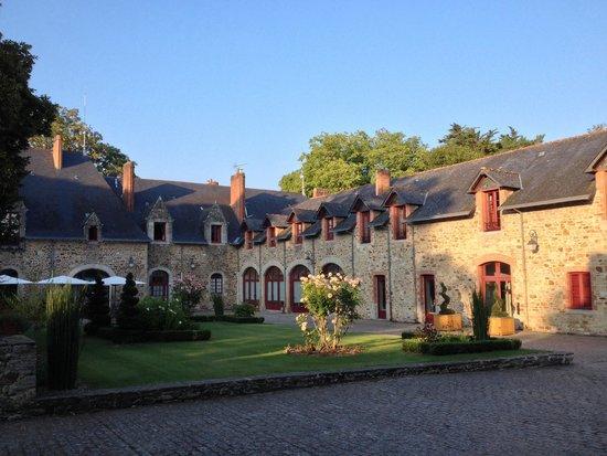 Domaine De La Bretesche : Inside of the domaine