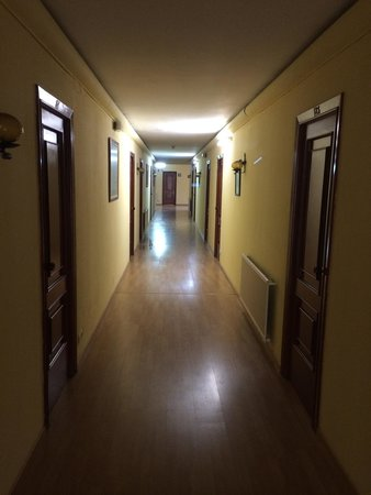 Hotel Eumesa : The hallway