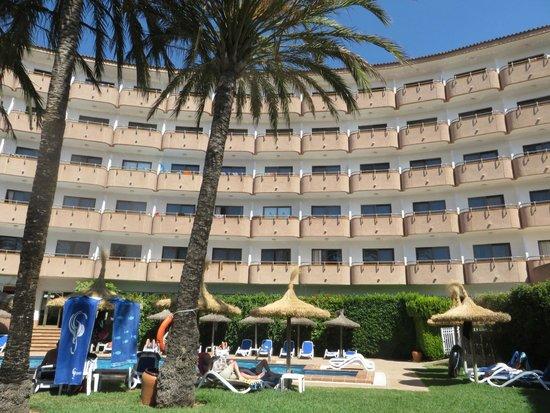 Grupotel Maritimo: Around the quiet pool