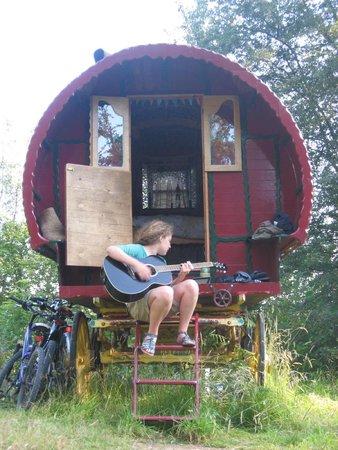 Low Wray National Trust Campsite: The caravan