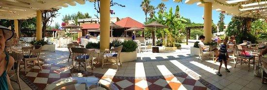 Apollon Hotel : pool bar