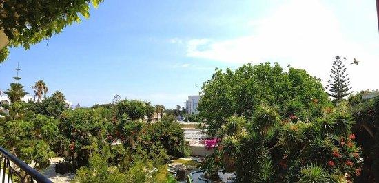 Apollon Hotel : garden side