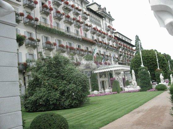 Grand Hotel Des Iles Borromees : Facciata