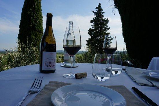 Hostellerie Chateau des Fines Roches: dinner