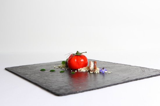 Restaurante Solana: falso tomate cantabrizado