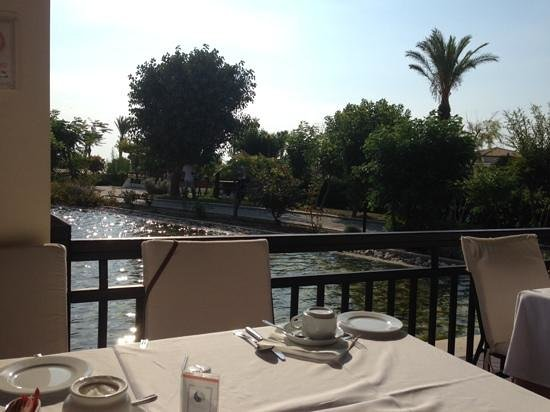 Grecotel Kos Imperial Hotel : View at breakfast