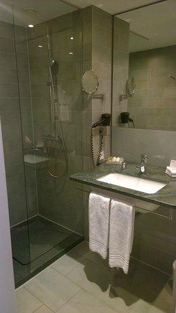 Hilton Garden Inn Stuttgart NeckarPark: Modern bathroom