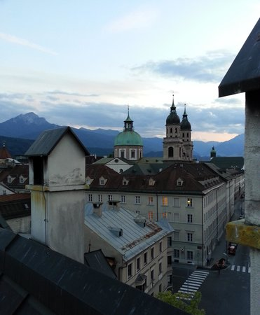 Hotel Schwarzer Adler: View from rooftop