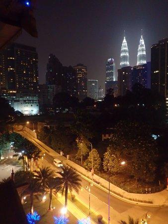 Royale Chulan Kuala Lumpur: View from balkony.