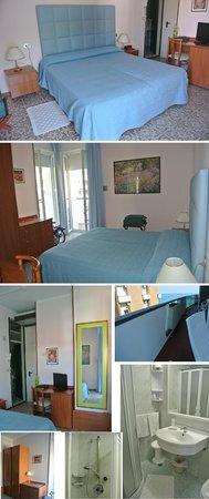 Hotel Majestic: camera e bagno
