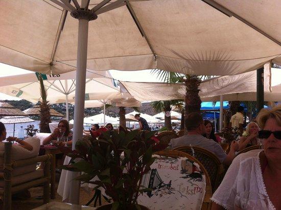 Sunset Beach Restaurant Bitez: - Lunchtime -
