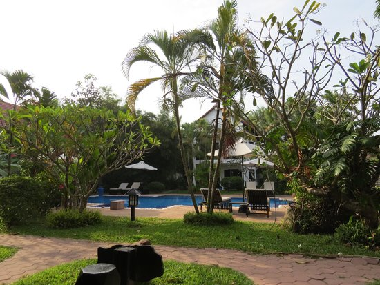 Community Residence Siem Reap : Hotel grounds