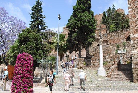 Alcazaba: вход в крепость