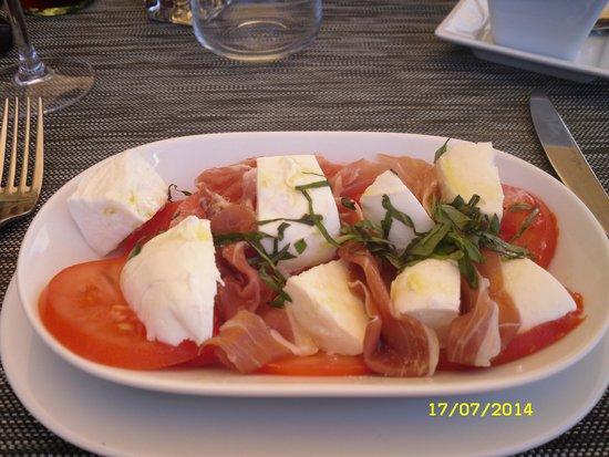 Restaurant Le Cesar: Tomates-mozza