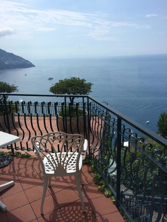 Le Agavi Hotel: The best view of positano is from this hotel