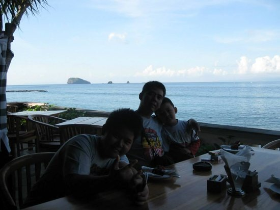 Ashyana Candidasa: Nice Breakfast with sea view