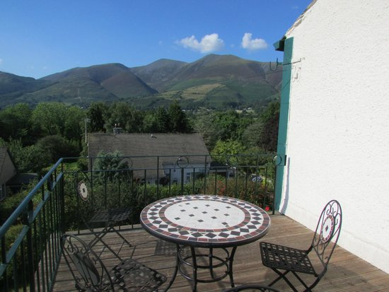 Skiddaw Grove: balcony view