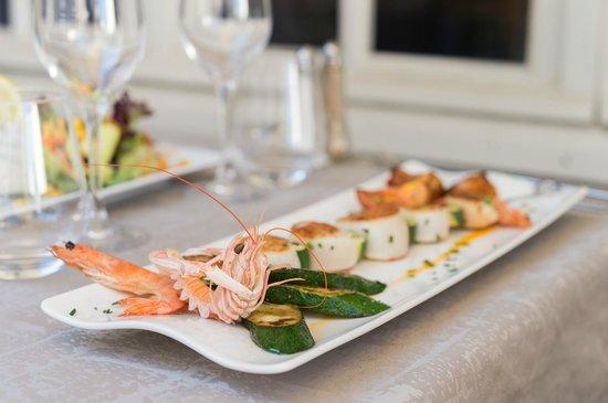 Les Residences d'Armor : restaurant Le Cap à l'ouest