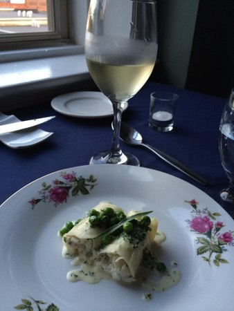 The Reluctant Chef : Cod with fresh pasta