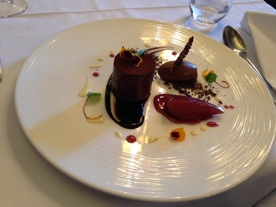 Gordon's Restaurant: Chilled chocolate fondant