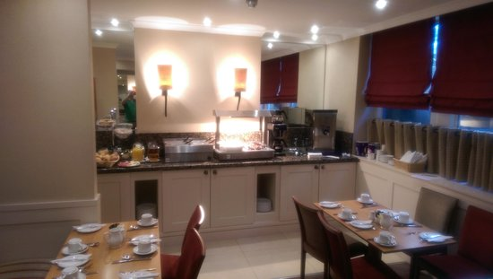 Blandford Hotel : Breakfast area