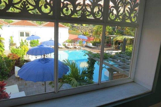 Hotel Hacienda de Abajo: Pool frm balcony