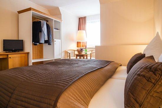 Hotel Restaurant Thueringer Hof : Hotelzimmer