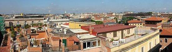 Marcella Royal Hotel: Terrazza panoramica