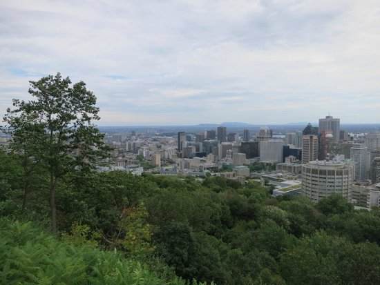 Mount Royal Park: une des nombreuses vues panoramiques