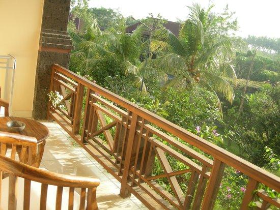 Bhuwana Ubud Hotel: The balcony