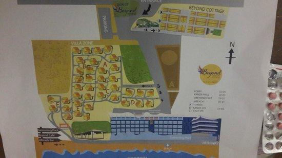 Beyond Resort Krabi: map