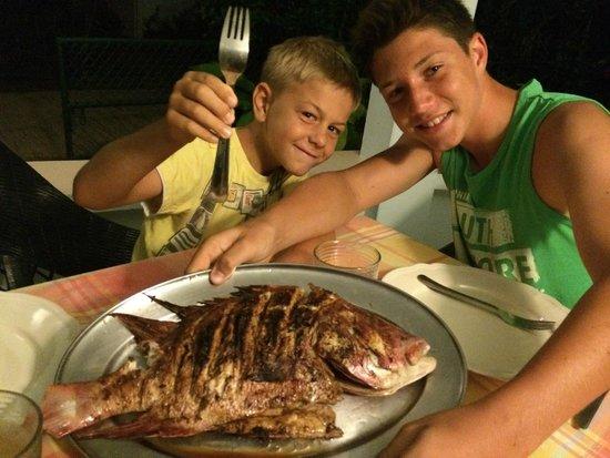 Ocean Villa Grand Anse: Dinner