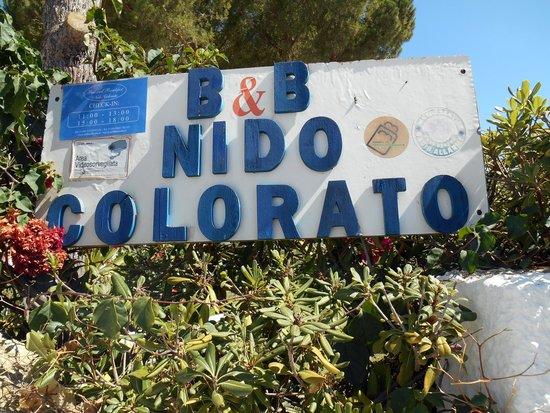 Nido Colorato B&B : Отель и местность