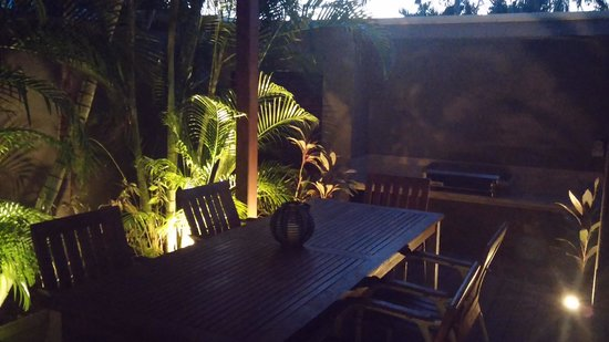 The Pearle of Cable Beach: Our own BBQ area