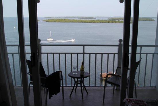 Sanibel Harbour Marriott Resort & Spa : Balcony View to the Gulf
