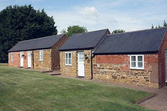 Brampton Grange: Stables have been converted and are now B&B cottages