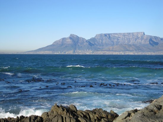 Robben Island: View from a checkpoint on the Island