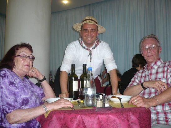 Hotel Christian Rivazzurra: notre copain Giuseppe