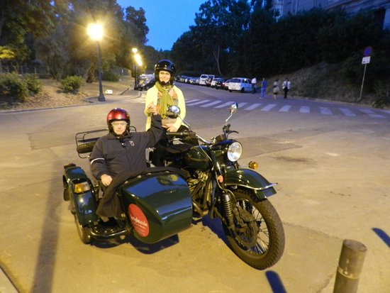 BrightSide: reat fun on the motorcycle side car