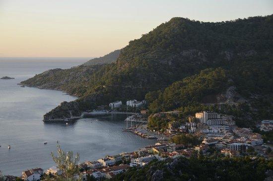 Loryma Resort: Sunrise over Turunc