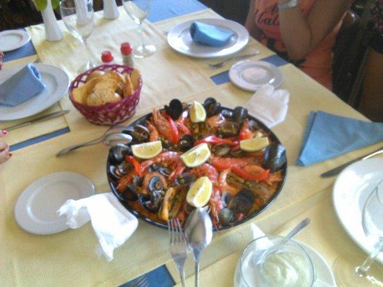 Astillero Avencio : Paella