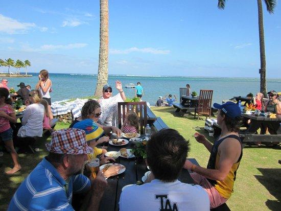 Naviti Resort: Lunch