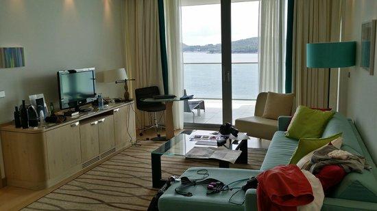 Sun Gardens Dubrovnik: Living room
