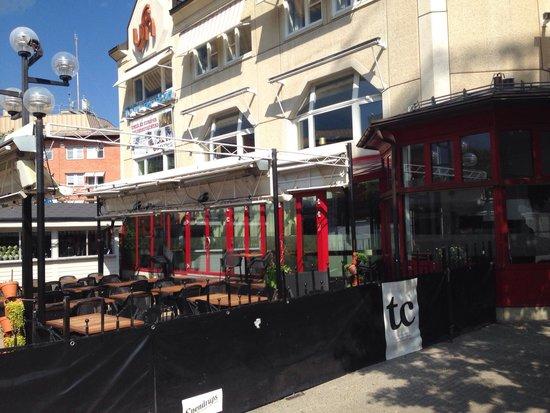 TC (Teatercafeet): Outside @ summer