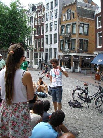 SANDEMANs NEW Europe - Amsterdam : Explicaciones