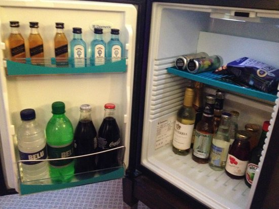 The Mandeville Hotel: Mini Bar