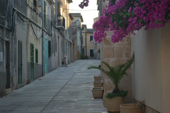 Aparthotel Ferrer Maristany : Back Street in old town